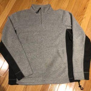Gap half zipper fleece jacket